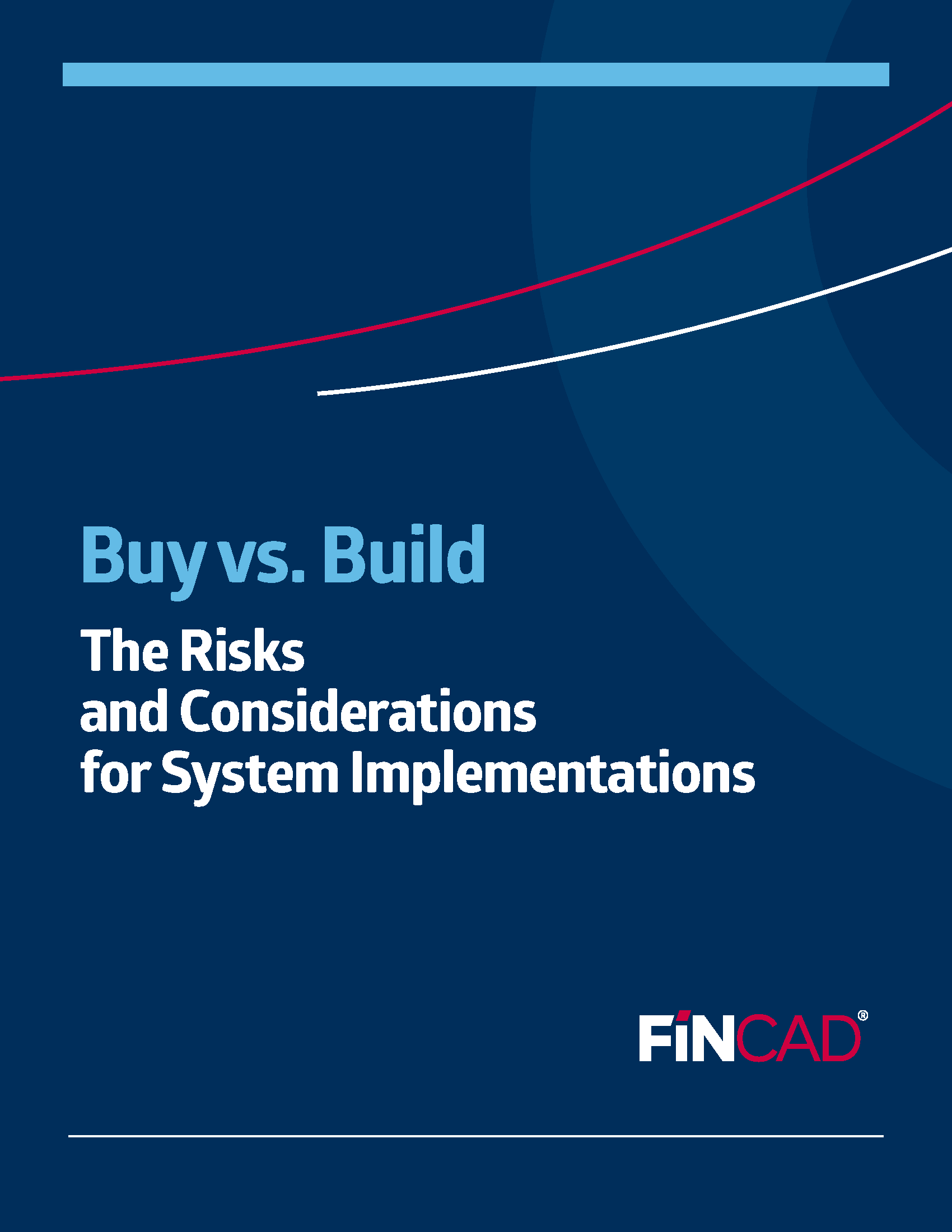 Build vs. Buy: The Risks and Considerations for System Implementations