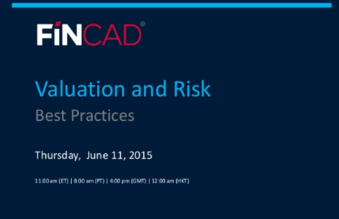 Valuation and Risk Best Practices